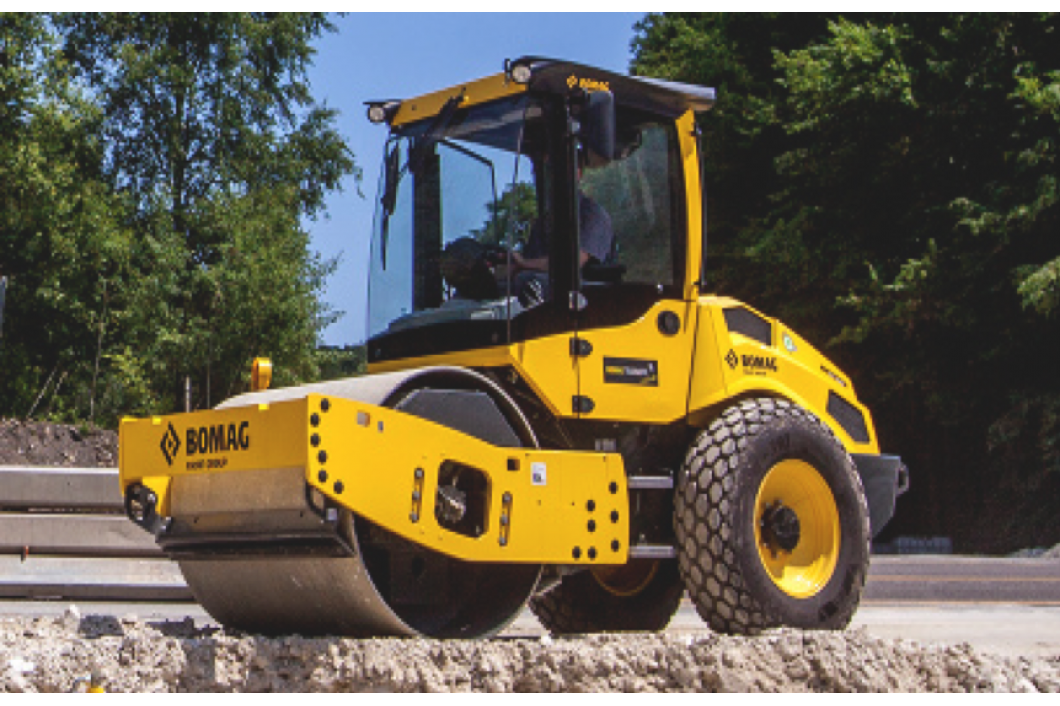 Bomag 8 ton Roller